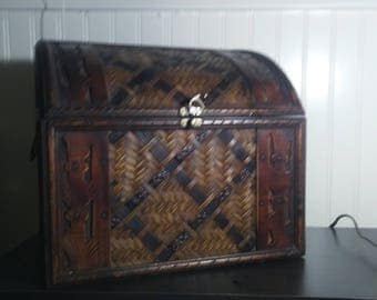 Woven Treasure Box