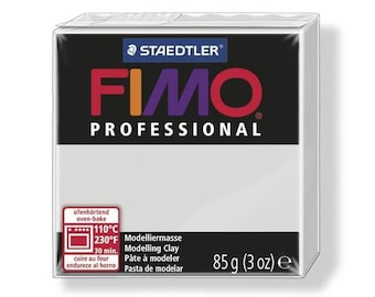 85 g Professional grey 8004.80 - Fimo polymer clay