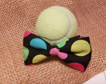 Colorful Polka Dots Bowtie