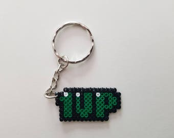 1UP (green) - keychain