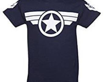 Captain America Inspired Super Hero T-Shirt