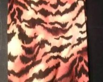 Plastic Bag Holder #23 Small Tiger Stripes