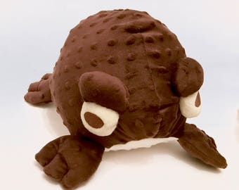 Big Ugly Terrible Toad (BUTT) Large Soft Cuddly Monster Plush