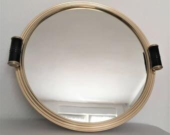 vintage 30s mirror tray