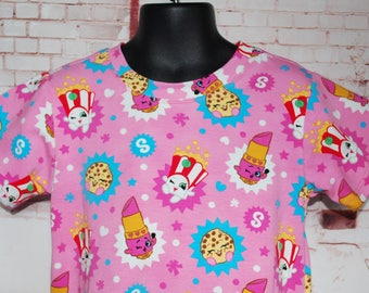 Shopkins T-Shirt Dress - Size 5/6
