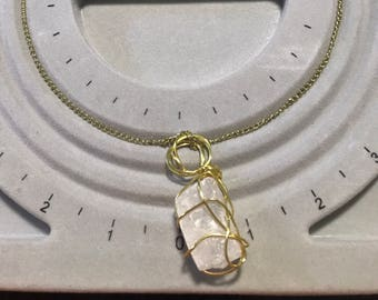 Crystal Wrapped Necklace