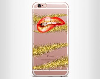 iphone 6 case iphone 6s case iphone 6 plus case iphone 6s plus case iphone 7 case iphone 7 plus case iphone 5/5s clear lips silicone case