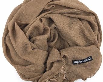 Coffee Rippled Hijab #12