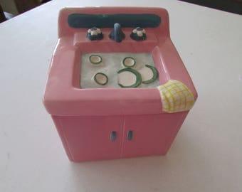 Vintage Kitchen Sink Cookie Jar
