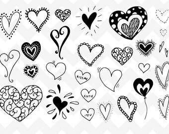 Hearts SVG   Hearts Bundle SVG Cutting File   Cutting File   Silhouette   Love Bundle svg   Valentine svg   Heart Clipart   Love svg