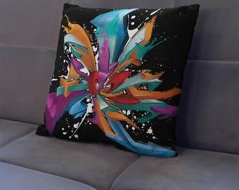 Big Ben Square Pillow