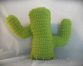Cactus Accent Pillow