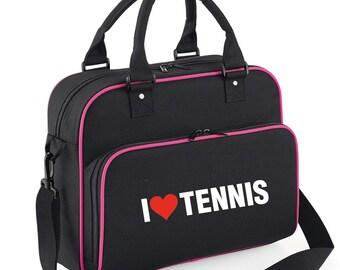 iLeisure Ladies I Love Tenis Dance Kit Bag.
