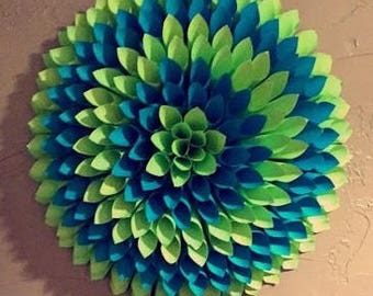 Paper Wall Decor Flowers