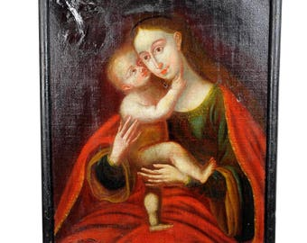 Unknown - Miraculous Image of Insbruck Maria with Child after Cranach