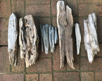 Driftwood Lot of Small/Medium DriftWood for Crafts/Arts