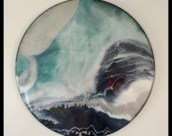 The Perfect Storm - 90cm resin artwork