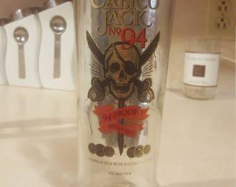 Rum bottle glass