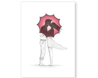 Anniversary Valentines Card – Kiss Me Quick