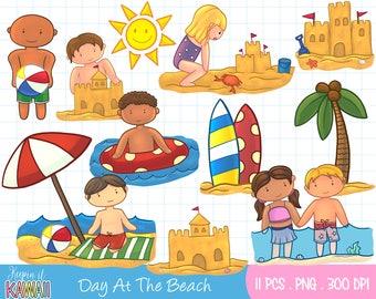 Sandburg clipart  Beach clipart | Etsy