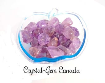 2 (two) beautiful Ametrine, - Gemstone for spiritual guidance.  Gemstone infused w Reiki