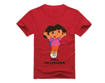 Dora The Explorer T-Shirt for children - available in many sizes and colors