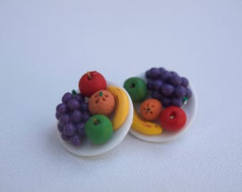 Fruit Bowl Earrings