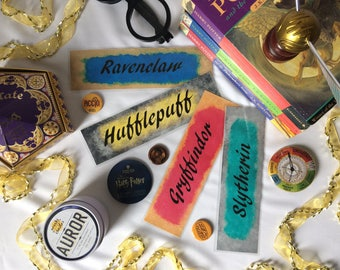 Hogwarts House Bookmarks