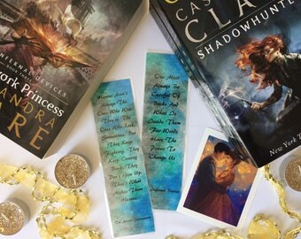 Shadowhunter bookmark