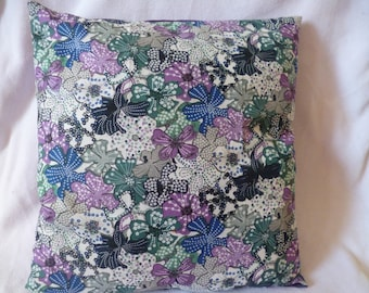 40 * 40cm Liberty purple/blue/green Cushion cover