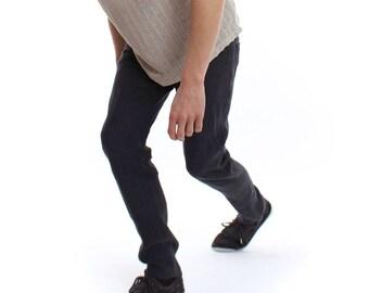 Hemp pants men's