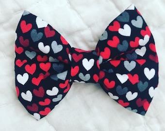 Hearts bow