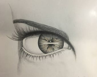 Eye Drawing (print)