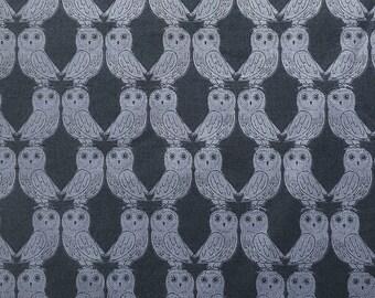 scrub hat pixie style - midnight owls