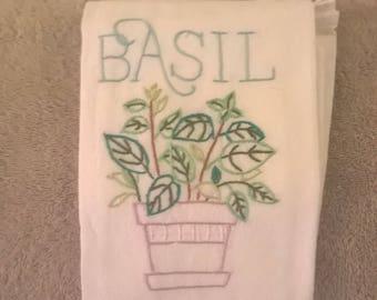 Basil Kitchen Towel