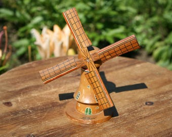 ON SALE Thru Sept. 1 /Dutch Windmill / Wooden Windmill / Dutch Icon / Holland / Wanderlust