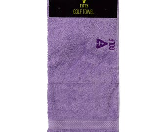 FITTY UK Lilac Golf Towel