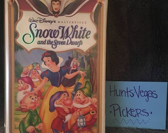 Snow White and the Seven Dwarfs VHS Masterpiece Collection