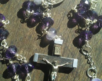 The Purple Crystal Rosary