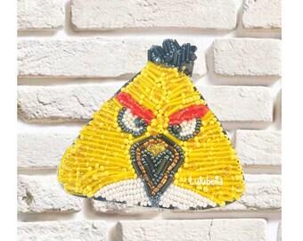 Brooch Angry bird