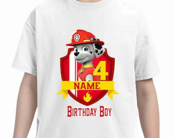 Paw Patrol Birthday t-shirt