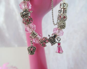 PRE-ORDER 5 WKs Once Upon A Dream Charm Bead Bracelet
