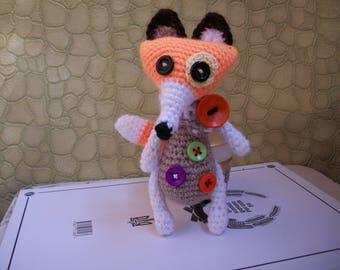 Crochet fox/вязаная лиса