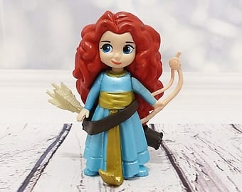 Merida - Rebellious - Brave - figurine Cake topper, Disney