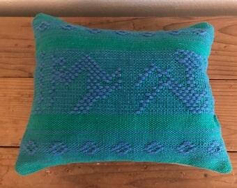 "Handmade Vintage Fabric Pillow 10"" x 14"""