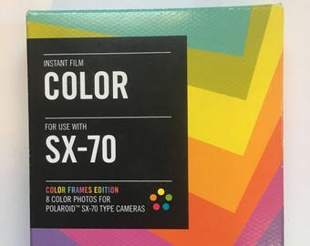 Polaroid Color Frames Instant Film for SX-70 by Impossible Project Expired 02/14 Sale Christmas Gift