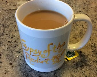Gypsy Tea/Coffee Mugs.