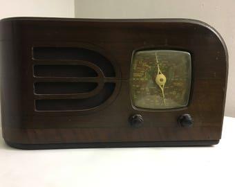 "Valve Radio ""Gulbransen"" circa late 1940's."