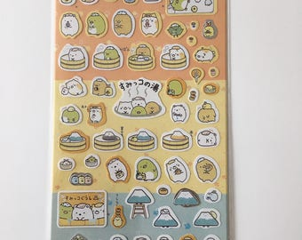 Cute Molang Rabbit Diary Stickers Decoration Stationery Label Sticker - Design 7