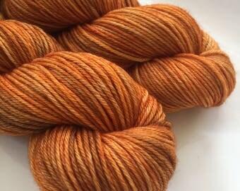 Hand Dyed Yarn - Autumn Glory - 100% Superwash Merino Wool - Storr -  Worsted / Sweater Yarn -